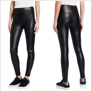 NWT 7 For All Mankind Faux Leather Leggings Medium